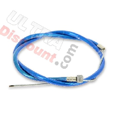 Custom Front Brake Cable - 500mm - Blue