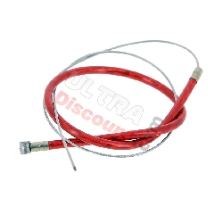 Custom Front Brake Cable - 350mm - Red