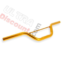 Handlebar for Cross Pocket bike Yellow gold