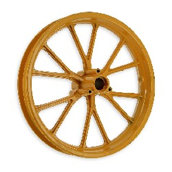 Front Rim yellow for Cross Pocket Bike (10'', type 2)