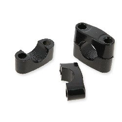 Handlebar Clamp for ATV Quad Shineray 200 ST6A (Black)