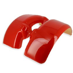 Front mudguard for ATV 250F1 red