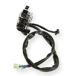 Left Switch Assembly for Spy Racing 350cc - Aloy