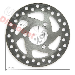 Brake Disc front 120mm for electric quad