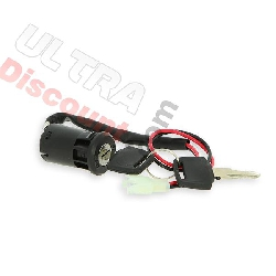 ignition key neiman electric quad