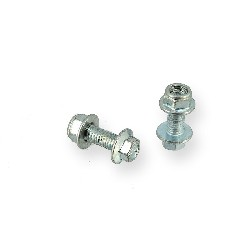 Pair of screws M8 20mm ATV Bigfoot