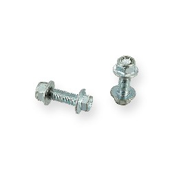 Pair of screws M8 25mm ATV Bigfoot