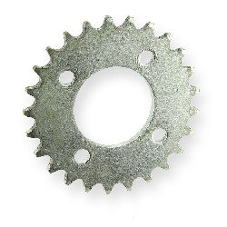25 Tooth Reinforced Rear Sprocket for Chain - 420