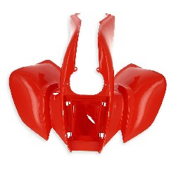 Front Mud Guard Fairing for ATV Quad 200cc - Red