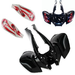 Front Fairing + Stickers for ATV Quad 200cc