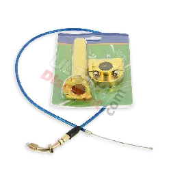 HQ Billet Quick Throttle (Gold) + Throttle Cable (Blue)