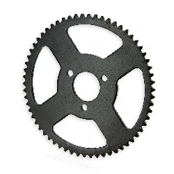 62 Tooth Reinforced Rear Sprocket for Pocket Bike