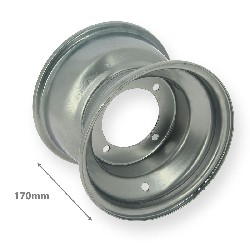 Rear Rim for ATV Shineray Quad 200cc STIIE - STIIE-B - 18x9.5-8