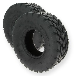 Pair of Front Road Tires for ATV Shineray Quad 200cc - 19x7.00-8