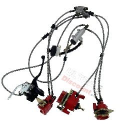 Complete Brake System for ATV Shineray Quad 250cc ST-5