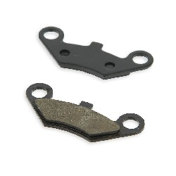 Front and rear brake pads for ATV Spy Racing SPY350F3-F1