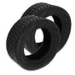 Pair of Front Tires for ATV Shineray Quad 350cc ST-2E - 200-50-12