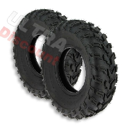 Pair of Front Tires for ATV Shineray Quad 350cc ST-E 23x7-10