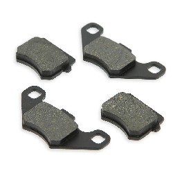 Set of Front Brake Pads for ATV Shineray Quad 150cc STE