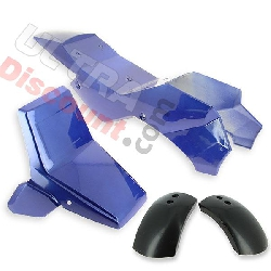 Fairing for ATV Pocket supermoto - Blue