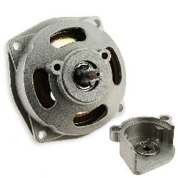 Clutch Bell + Housing + 6 Tooth Sprocket (small pitch)