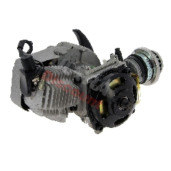 Engine for Pocket Supermotard 49cc + Racing Air Filter + Alu Recoil Starter (type 2)