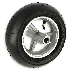 Rear Wheel w- Slick Tire for Pocket Bike - 110x50-6.5
