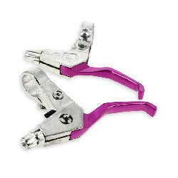 Aluminum Brake Lever - Purple