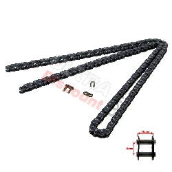68 Large Links Reinforced Drive Chain for Pocket Bike - TF8