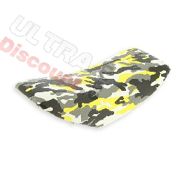 Saddle style camouflage yellow for supermoto