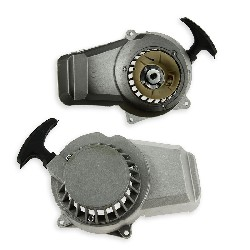 Aluminum Recoil Starter + Aluminum Sprocket for ATV Pocket Quad