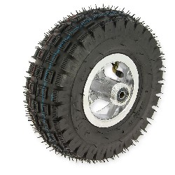 Complete rear wheel 3.00-4 pocket quad