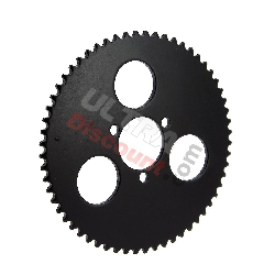 60 Tooth Reinforced Rear Sprocket for ATV Pocket Quad (type 2) - small pitch