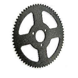 66 Tooth Reinforced Rear Sprocket small for pitch mini ATV
