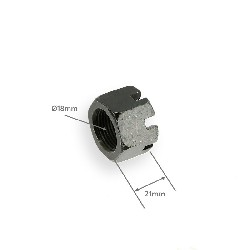 Rear Axle Castle Nut for Bashan Parts ATV 250cc BS (typ 2)