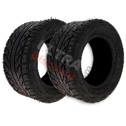 Pair of Rear Tires for ATV Shineray 200ST-6A - 225-45-10