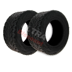Pair of Front Tires for ATV Shineray Quad 200ST-6A (205-50-10)