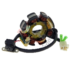 Stator for Chinese Scooter 50cc 4 stroke (5 cables)