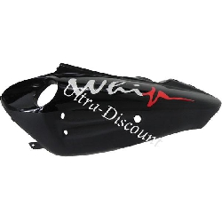 Left Side Fairing for Chinese Scooter (type 2) - Black