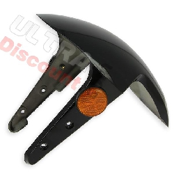 Front Mudguard for Chinese Scooter - Black (type-2)