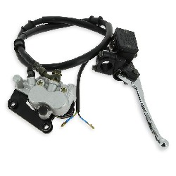 Complete Hydraulic Front Brake Assy for Scooter (type 1)