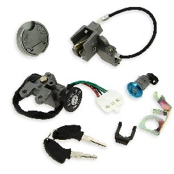 Complete Lock Assy for Chinese Scooter (type 5)