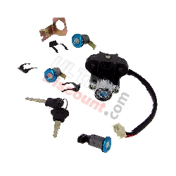 Lock Assy for Chinese Scooter 125cc (type 3)