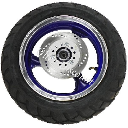 Front Wheel for Jonway Scooter (Blue)