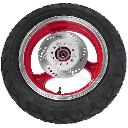 Front Wheel for Jonway Scooter 50cc (red)