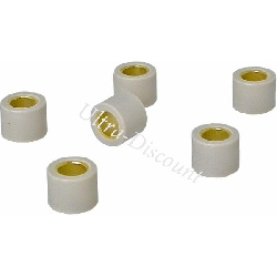 Set of 6 Roller Weights for Scooter 250cc - 17g