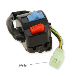 Right Switch Assy for Chinese Scooter 50cc (type 3)