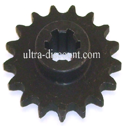 15 Tooth Front Sprocket for ATV Pocket Quad