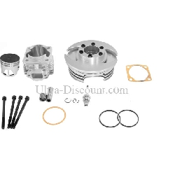Head Kit 53cc - 4 transfer ports - 10mm axle (type C) - Alu