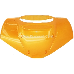 Front Fairing Windshield for Scooter - Orange